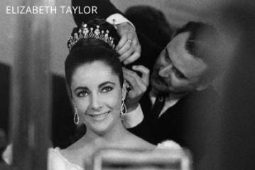 Alexandre e Elizabeth Taylor