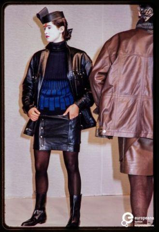 Coleção Outono/Inverno de 1982.