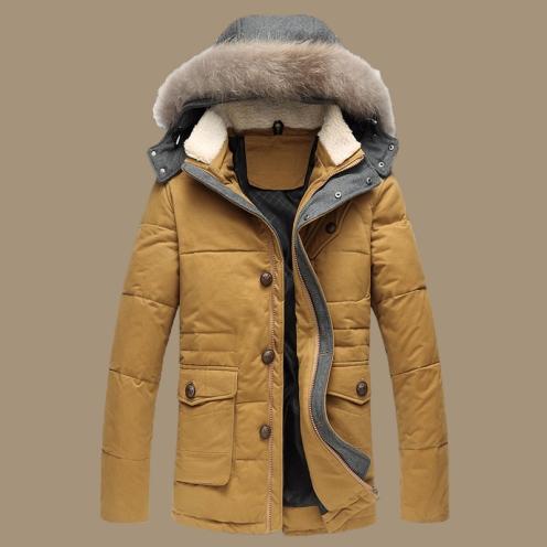 Exemplo de casaco Anoraque.