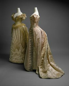 Vestido da Rainha Alexandra, data desconhecida.
