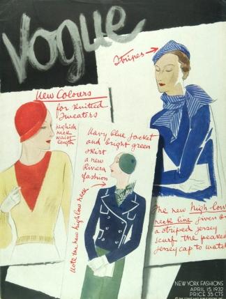 Capa da Vogue (Abril de 1932).