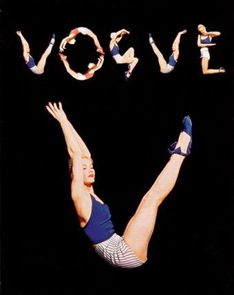 Capa da Vogue (Agosto de 1940).