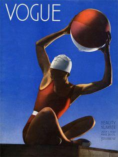 Capa da Vogue (Julho de 1932).