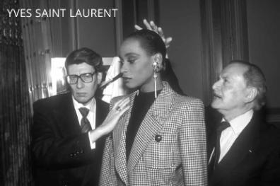 Alexandre e Yves Saint Laurent