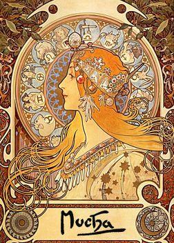 Zodiac por AlphonseMucha.