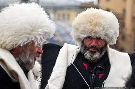 Papaha, um tipo de Papakha, chapéu Russo feito com Astracã.