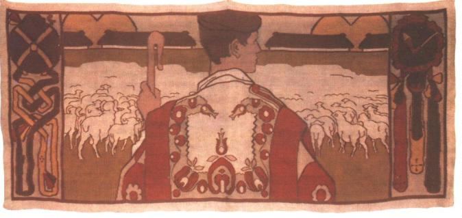 A pásztor szőnyeg por Vaszary János, 1906.