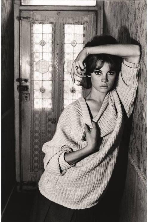 Jean Shrimpton por David Bailey em 1961.