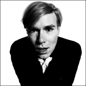 Andy Warhol por David Bailey em 1965.