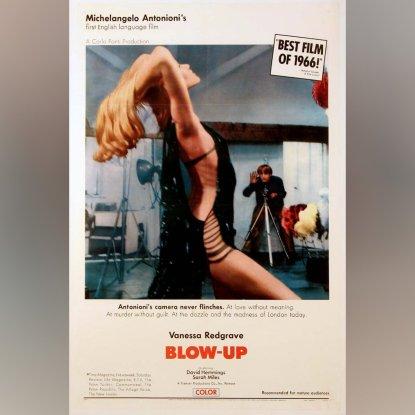 Poster de 1967 do filme Blow Up.