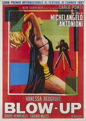 Poster italiano de 1967 do filme Blow Up.