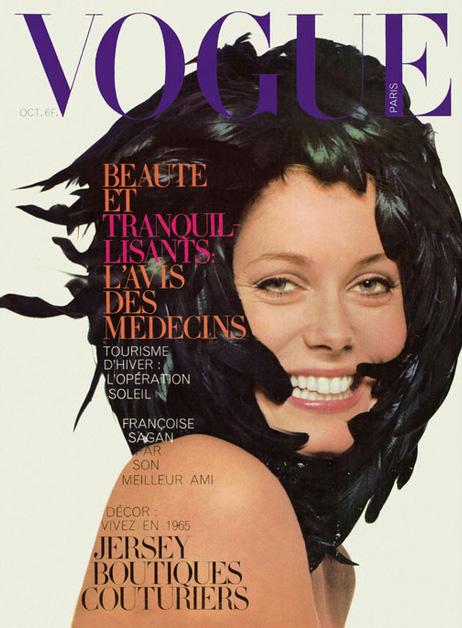 Catherine Deneuve por David Bailey para Vogue Paris, Outubro de 1965.