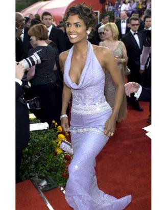 Halle Berry no Oscar de 2001.