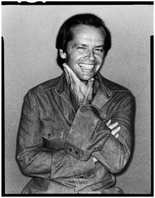 Jack Nicholson por David Bailey em 1978.