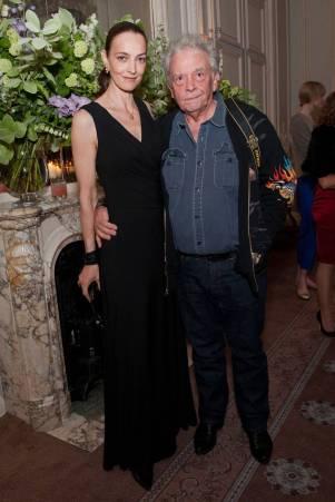 Catherine e David Bailey em Maio de 2010.