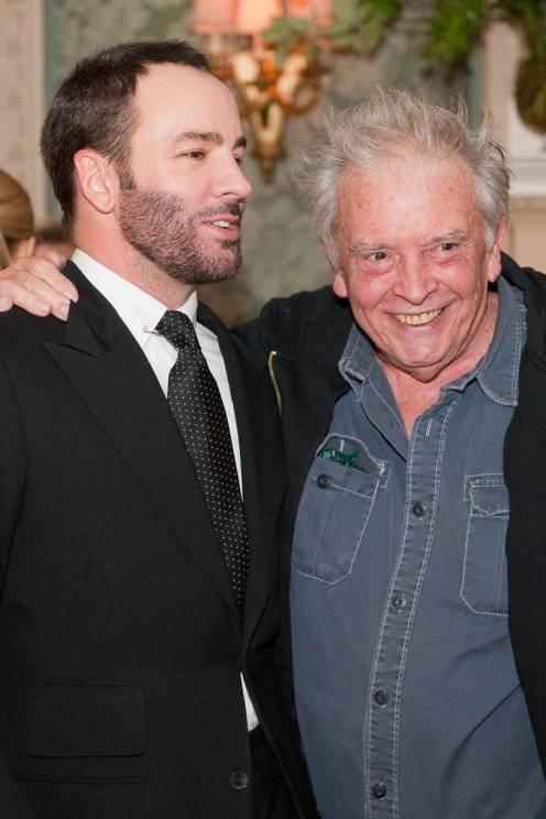 Tom Ford e David Bailey em Maio de 2010.
