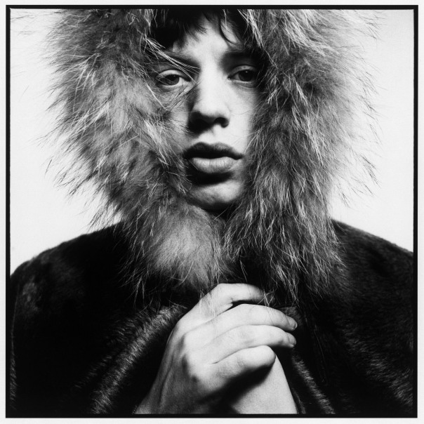 MICK JAGGER, FUR HOOD, 1964 david Bailey