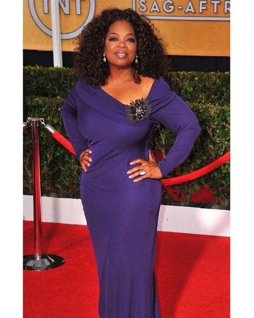 Oprah Winfrey no SAG Awards de 2014.