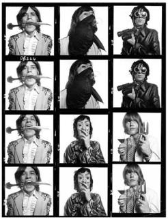 Os Rolling Stones por David Bailey, em 1968.