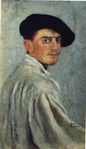 Bakst, Self Portrait,