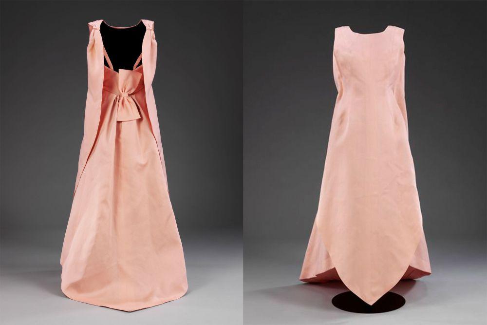 balenciaga tulip dress 1965