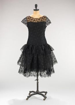 Cocktail dress, 1963–64 - Inverno, feito em Paris.