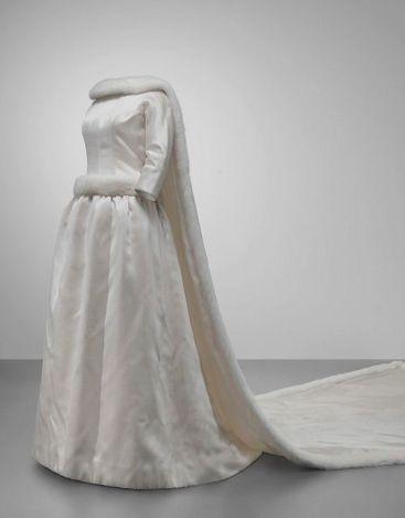 Vestido de noiva da Rainha Fabiola da Bélgica.